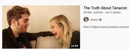 """Thumbnail eines Videos vom Kanal des Creators """"shane"""""""