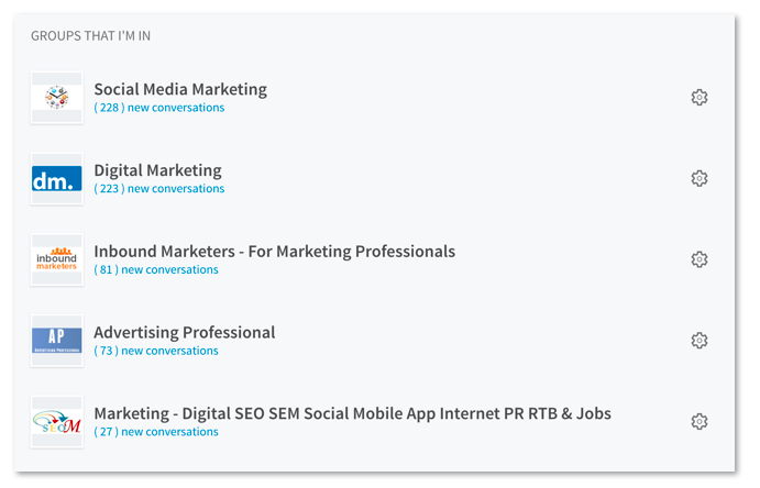 LinkedIn Marketing Gruppen beitreten