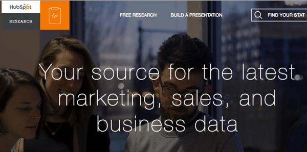 Ressourcen für Datenvisualisierung – HubSpot Research