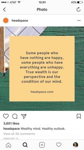 Inspirierende Beiträge auf Instagram