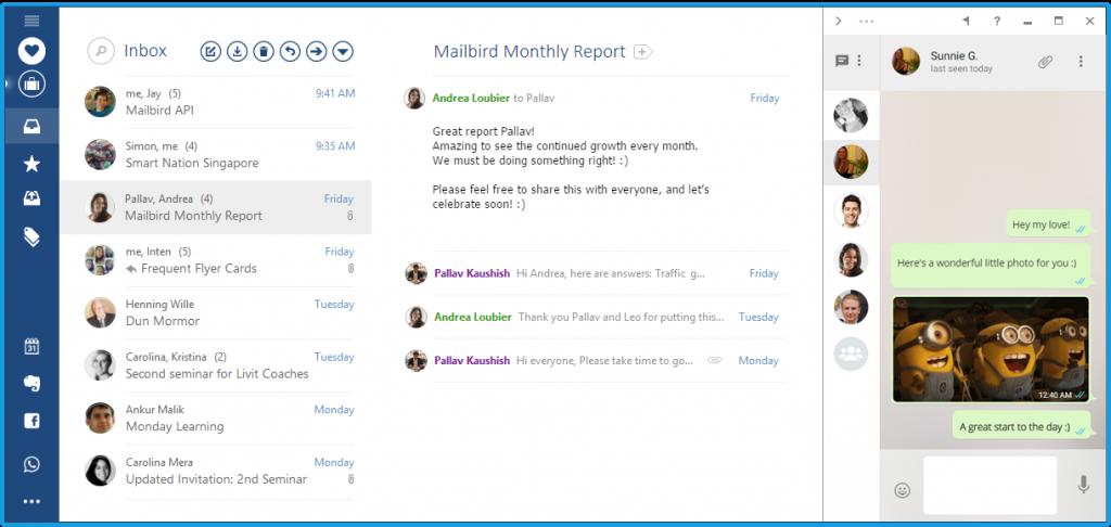 Tools für die Organisation Ihrer E-Mails – Mailbird