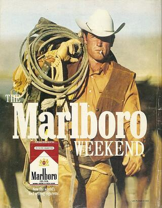 Werbekampagne: Der Marlboro Mann