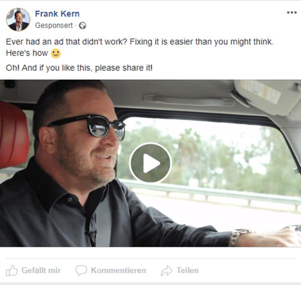 Beispiel-Beitrag von Frank Kern