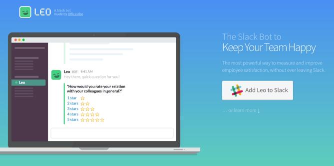 HubSpot - Produktivitäts-Bots für Marketer - Leo-Bot für Slack
