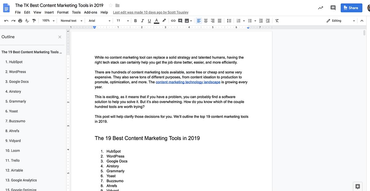 HubSpot-Google-Docs