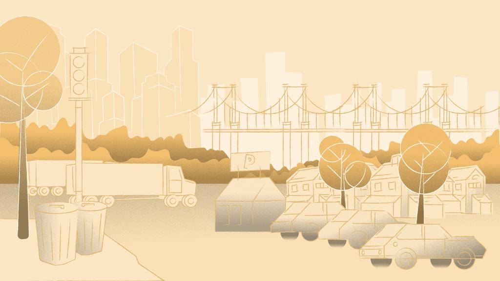 Mit dem IoT verbundene Städte