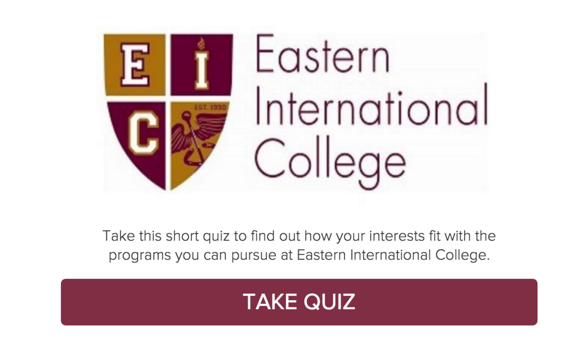 Eastern International College - Quiz zum Studienfach