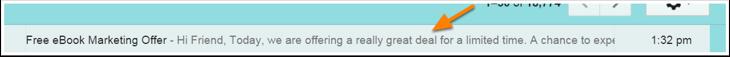 Email Vorschau Text Beispiel