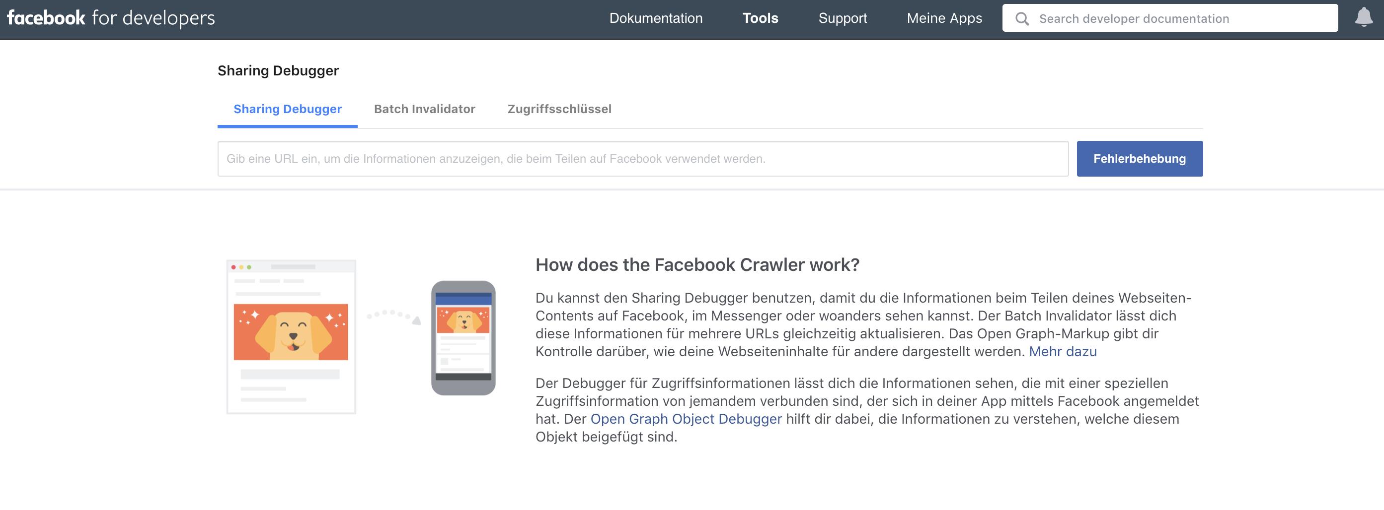 HubSpot-facebook-sharing-debugger