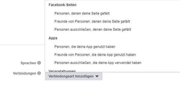 facebook-zielgruppe-erstellen-verbindungsart-zum-unternehmen-festlegen