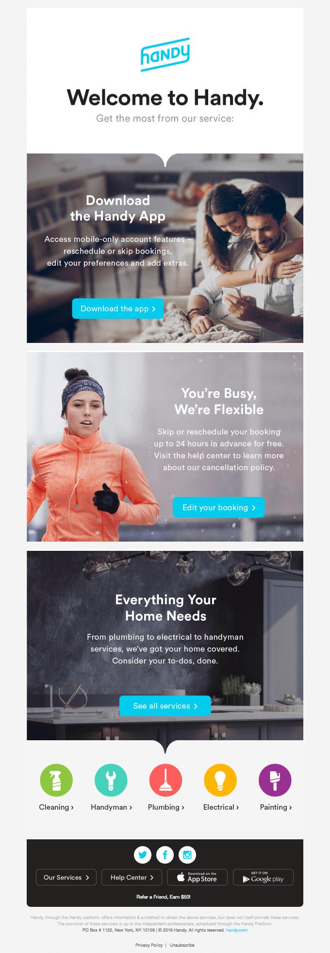 HubSpot-Kundenpflege-Handy
