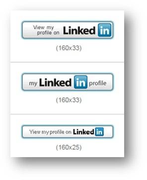 LinkedIn Buttons erstellen