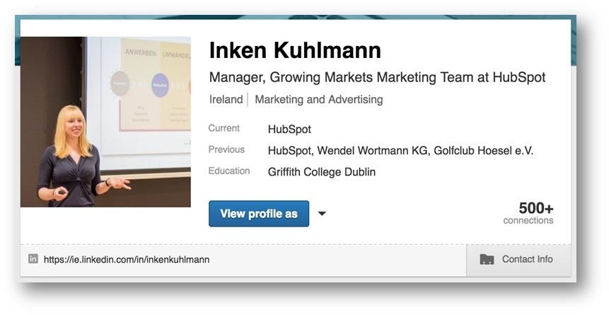 LinkedIn URL ändern