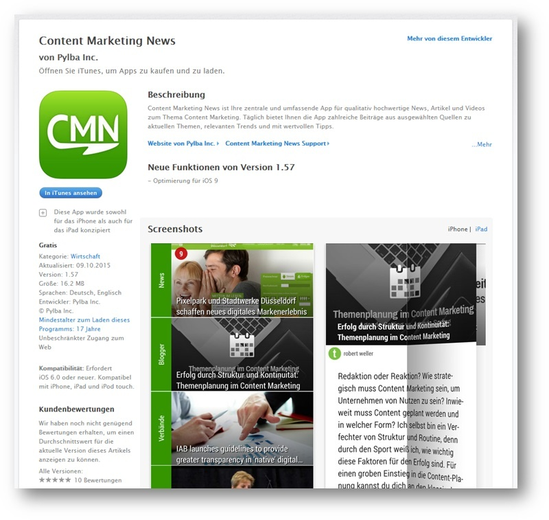 App Marketing Beispiel