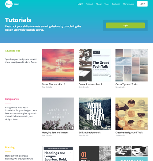 HubSpot - Visueller Content mit Canva - Design School Tutorials