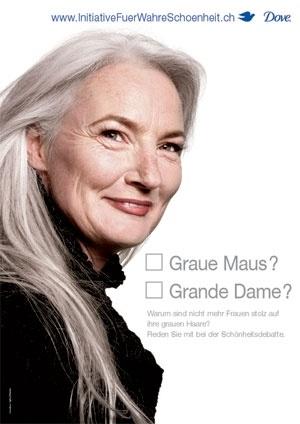 Werbekampagne Dove Wahre Schönheit