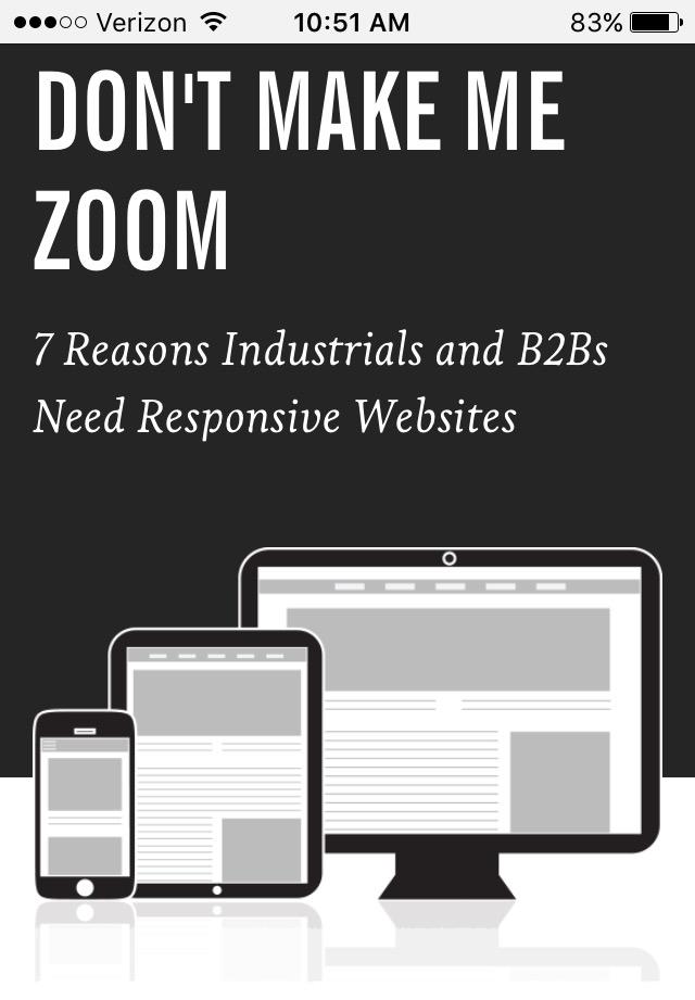 Beispiele für ansprechendes Landing-Page-Design – Industrial Strength Marketing 02