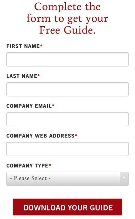 Beispiele für ansprechendes Landing-Page-Design – Industrial Strength Marketing 03