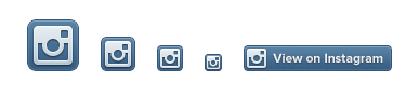 Spickzettel Social-Media-Buttons – Instagram-Badges
