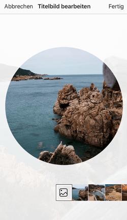 instagram highlights cover erstellen