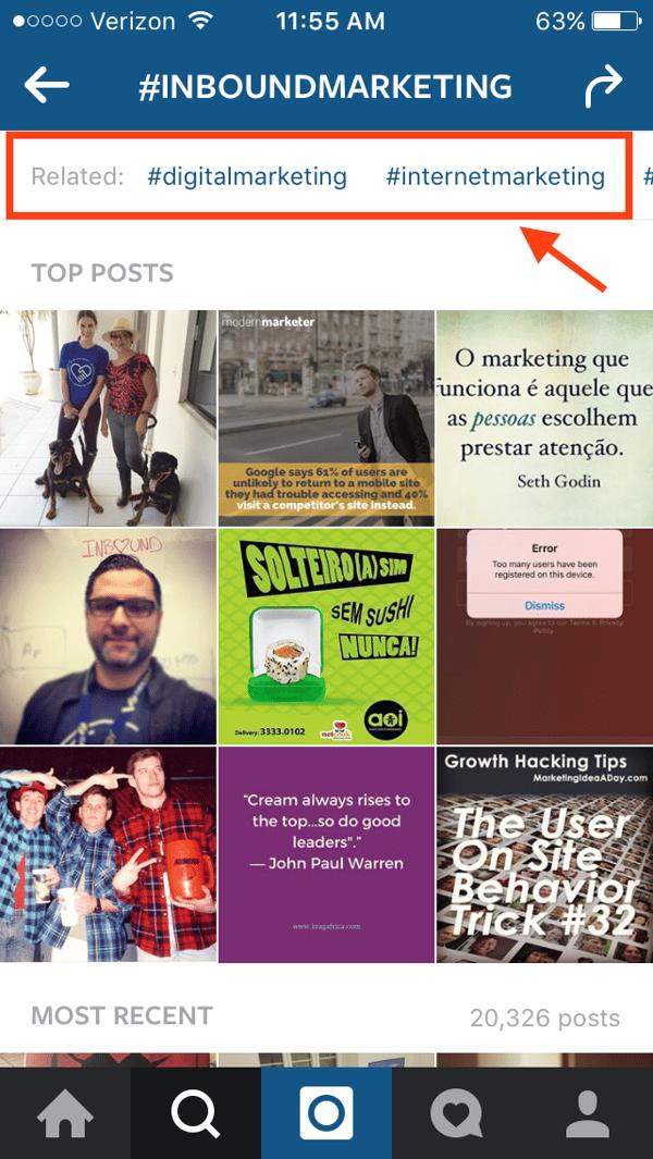 instagram-relevante-hashtags um mehr follower zu gewinnen