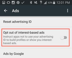 HubSpot-Personalisierte-Werbung-auf-Android-Gerät-deaktivieren