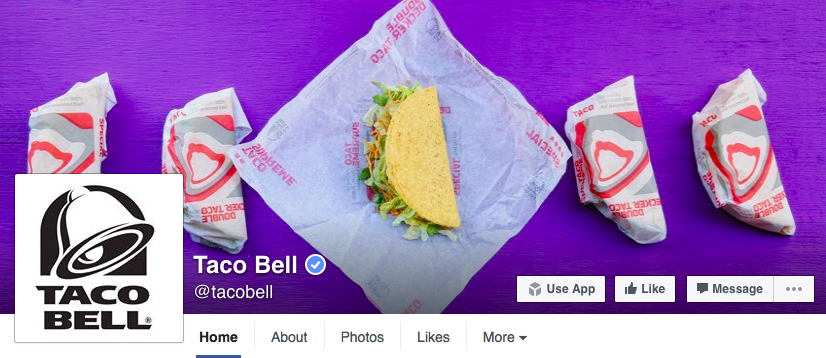 Facebook-Titelbild - Taco Bell