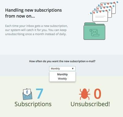 Tools für die Organisation Ihrer E-Mails – Unroll.me