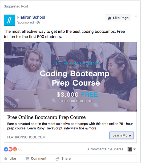 HubSpot-Facebook-Offer-Ad