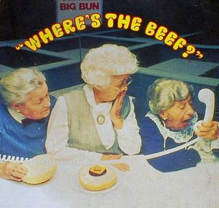 Werbekampagne von Wendy's: Wo ist das Rindfleisch?