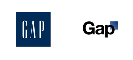 Gap - neues Logo