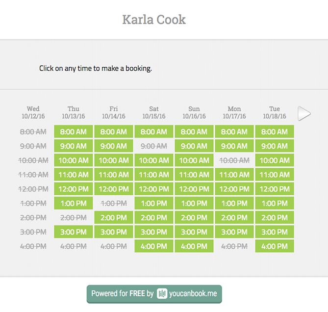 Tools für das Planen von Meetings – YouCanBook.me