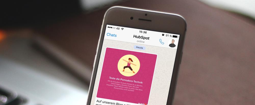 In 100 Schritten zur 35h-Woche: Unsere Tipps zum Zeit sparen bei WhatsApp