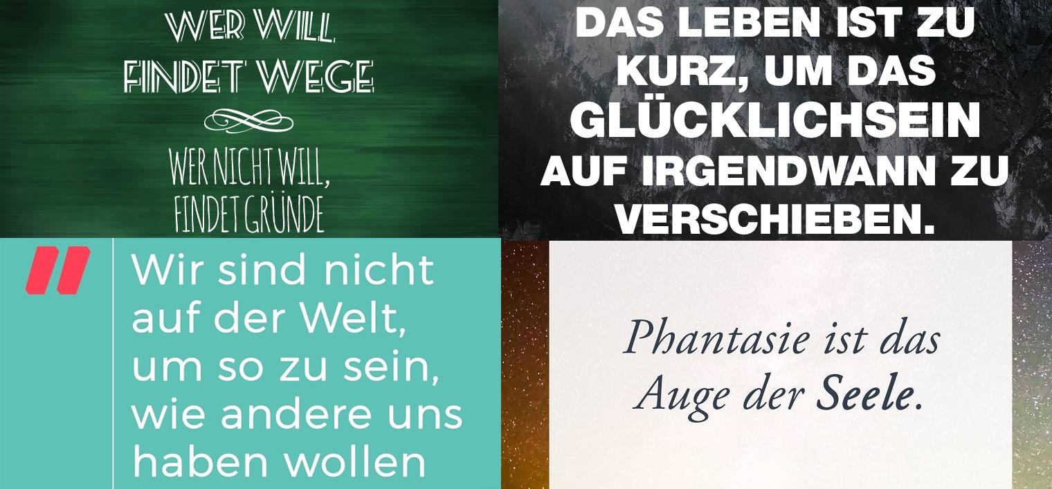 7 Apps für Texte in Instagram-Bildern