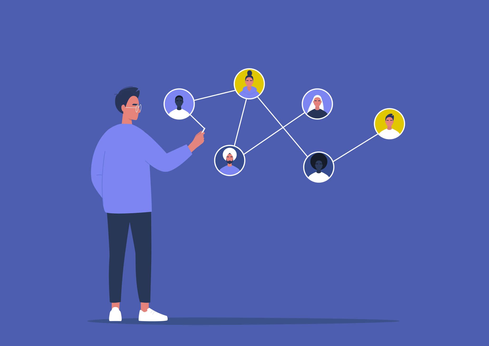 Ein Leitfaden für Social Selling mit LinkedIn