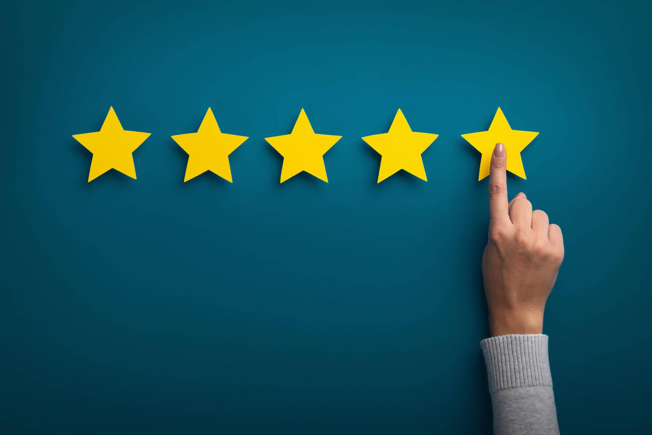 Produktbewertungen: Wie Sie schnell bessere Bewertungen für Ihren Shop sammeln