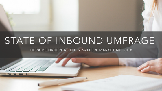 Inbound-Marketing-Umfrage: Jetzt teilnehmen und vorab Ergebnisse erhalten