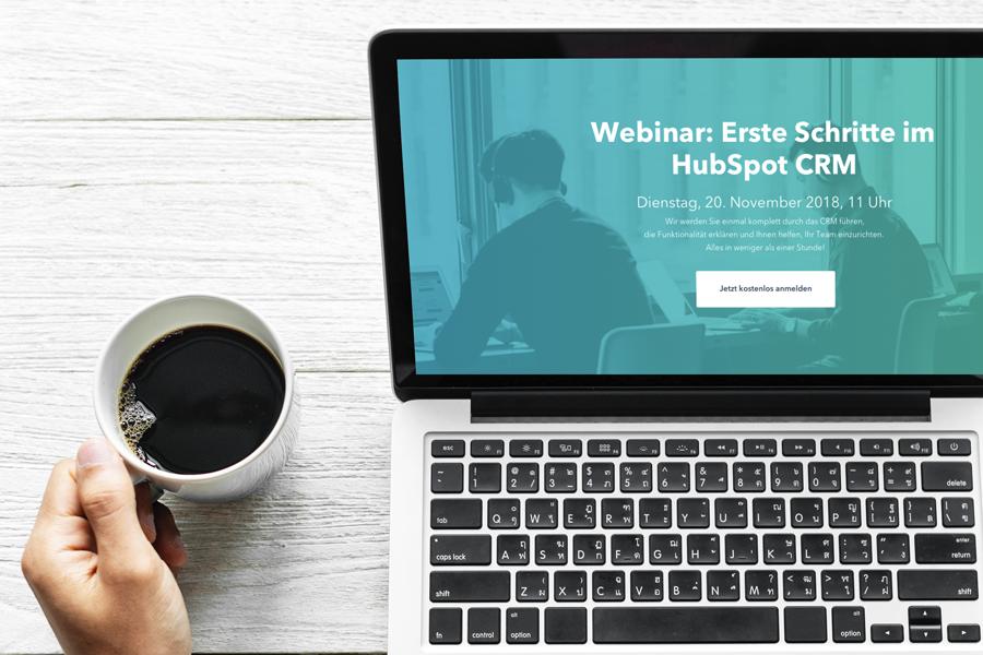 [Live-Webinar] Erste Schritte im HubSpot CRM