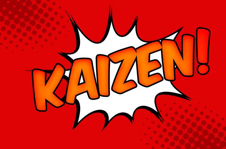 Kaizen: Das Streben nach fortwährender Verbesserung