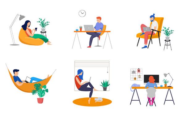 12 Tipps, um das Wohnzimmer ins Büro zu verwandeln