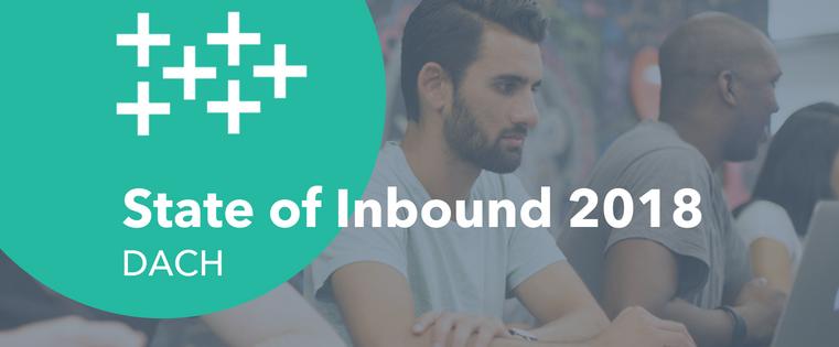 State of Inbound 2018: Herausforderungen in Vertrieb & Marketing