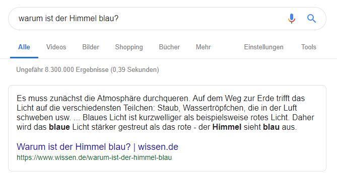 So funktionieren Featured Snippets – laut Google