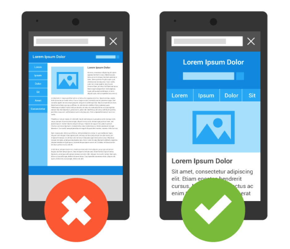 viewport optimization mobile website