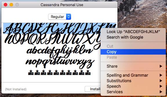 HubSpot-Trick zur Verwendung der Schriftart Cassandra im Instagram-Steckbrief
