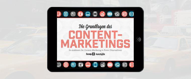 Die Grundlagen des Content-Marketings [Kostenloses E-Book]